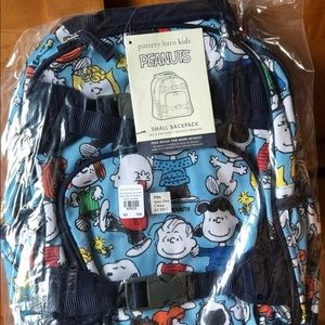 NWT Peanuts Snoopy Pottery Barn Backpack